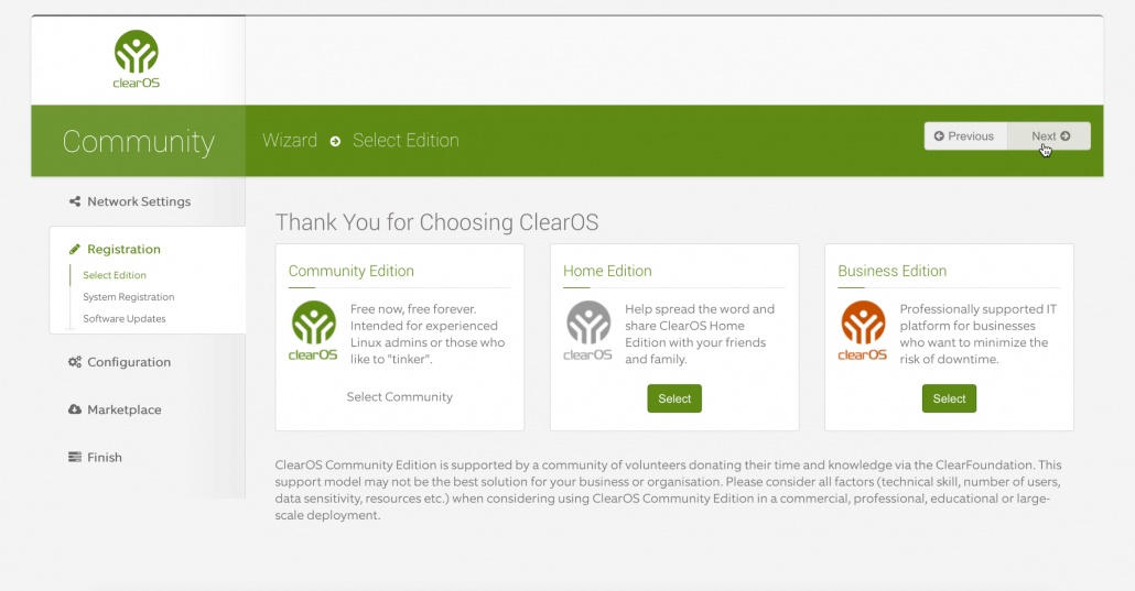 ClearOS Community